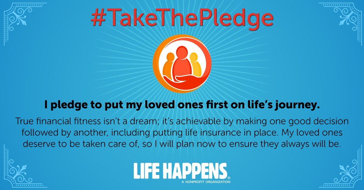 #TakeThePledge like me during #LIAM18. I put my loved ones first and want them to be taken care of…always. Learn more here: lifehappens.org/takethepledge #LIAM18 #ad