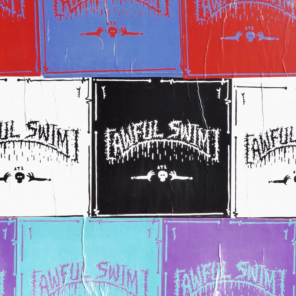 [awful swim] new father album in collaboration with @adultswim september 21st 🏆