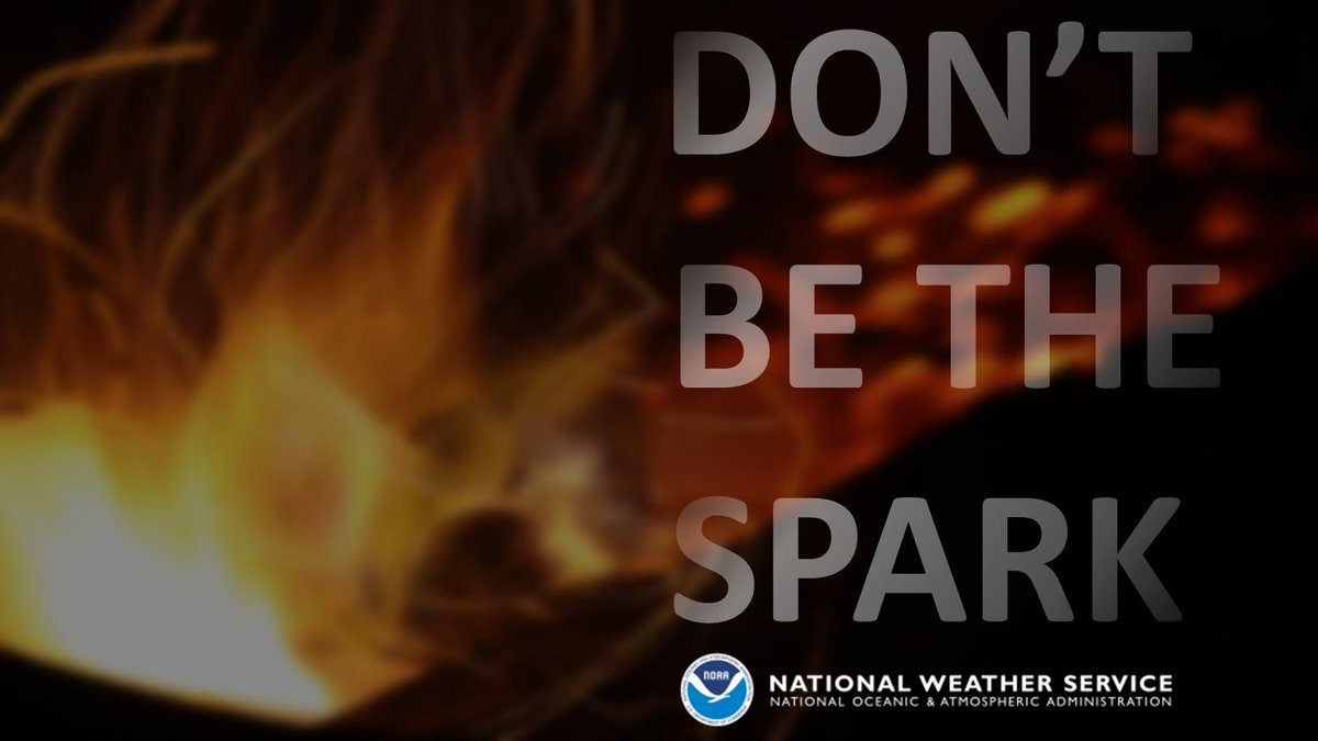 Winds have started to pick up. Please avoid any outdoor burning today and Thursday.  Don't be the spark! #nvwx