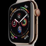 #AppleWatch #Series4 #AppleEvent - Larger display - New UI - Digital Crown w/ haptic feedback - faster processor - Fall detection - Electrical heart monitor - GPS & Altimeter - Swimproof - Bluetooth5 - Optical heart sensor Preorder 14Sep | Ships 21Sep $399 w/ GPS $499 w/ cellular