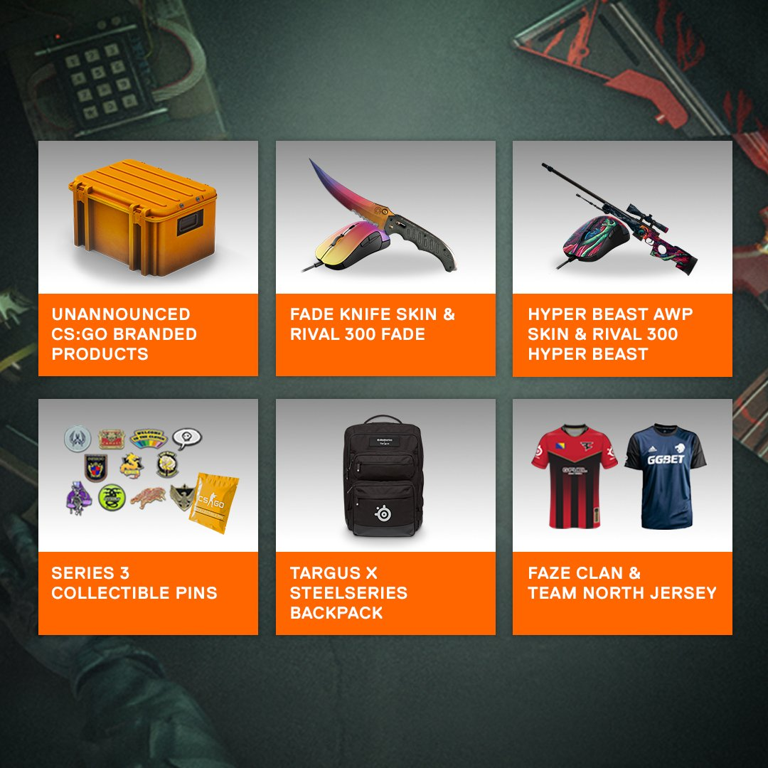 Win CS:GO prizes (including an unannounced product line) in our #FACEITMajor giveaway! Enter at https://t.co/CTKQHRdL84 https://t.co/BwQcH77cm6