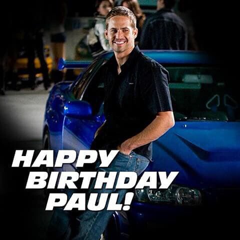 Happy birthday to Paul Walker 45  my angel