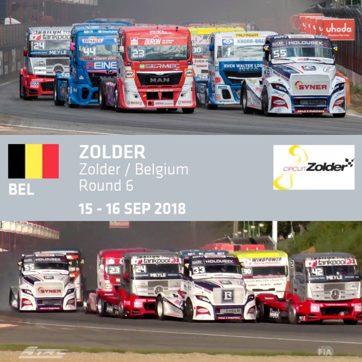 Circuito Zolder Belgica : Checkered floor at zolder race circuit belgium stock photo