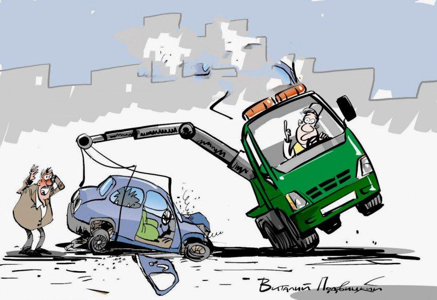 Смешные рисунки про автомобили