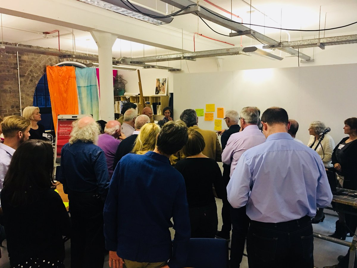 A really rich discussion with Fellows about Public Services and opportunities for change with @edcox_rsa and @JamieACooke. Slowly distilling ideas down to some post it's for us to take back to @theRSAorg