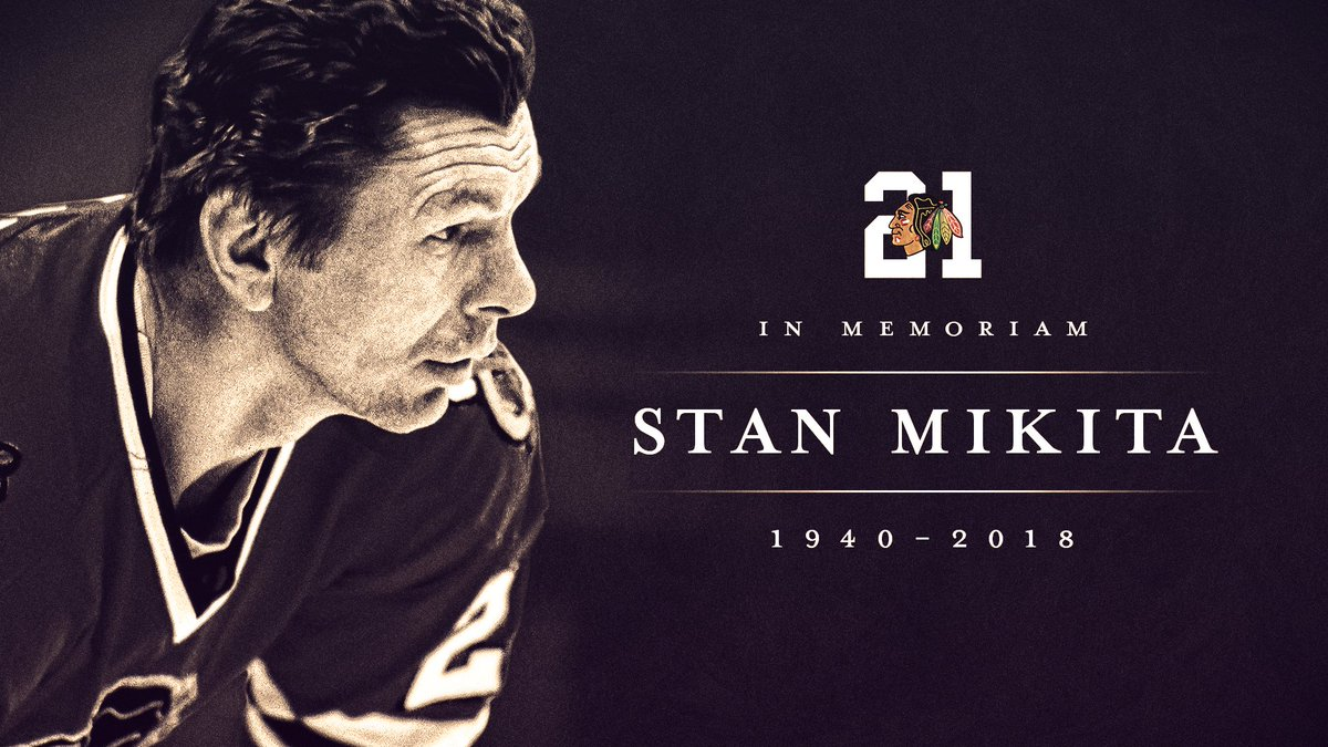 e1602c42f ... the late Stan Mikita in a pregame ceremony. Fans are encouraged to  arrive early to the United Center on Opening Night to be a part of this  special ...
