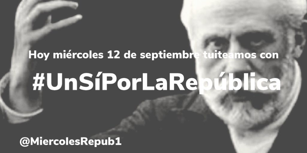 Como diría Pablo Iglesias di #UnSiPorLaRepublica