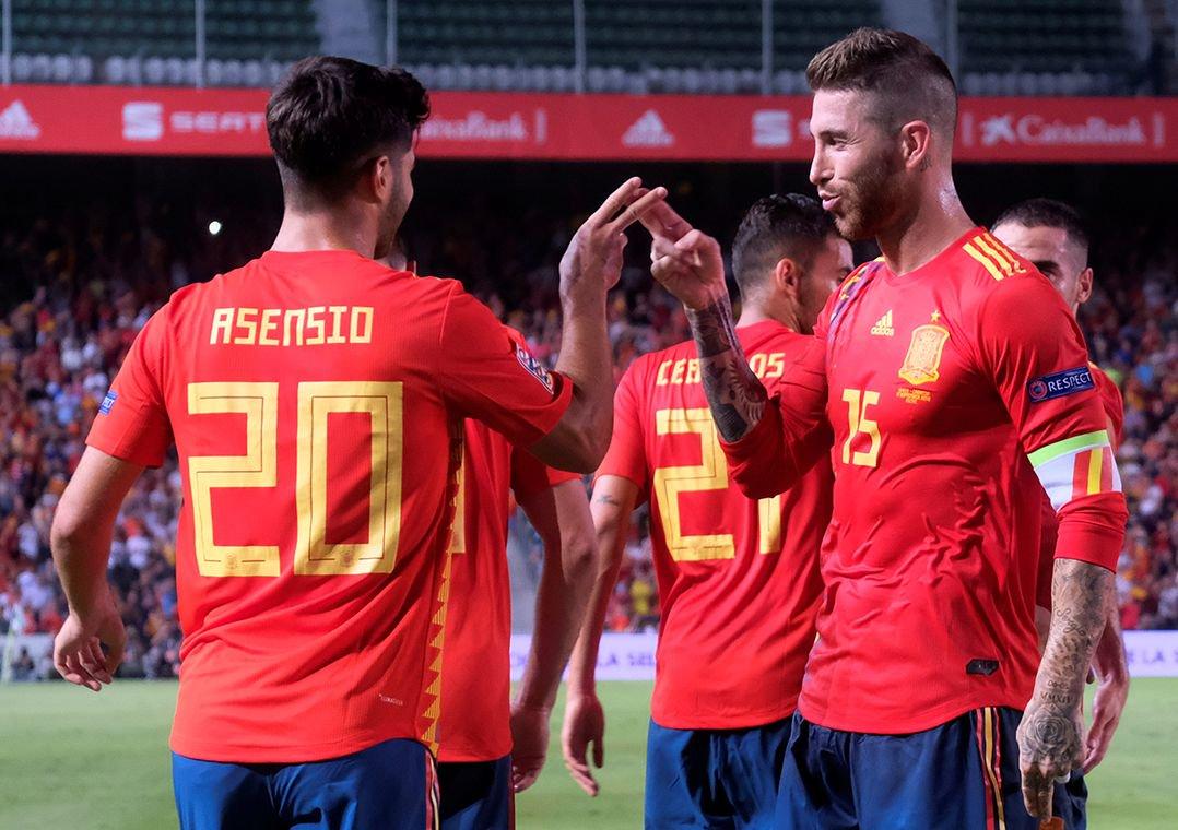 83bb79999a0b6 Espanha faz 6 a 0 na vice-campeã mundial Croácia na Liga das Nações.