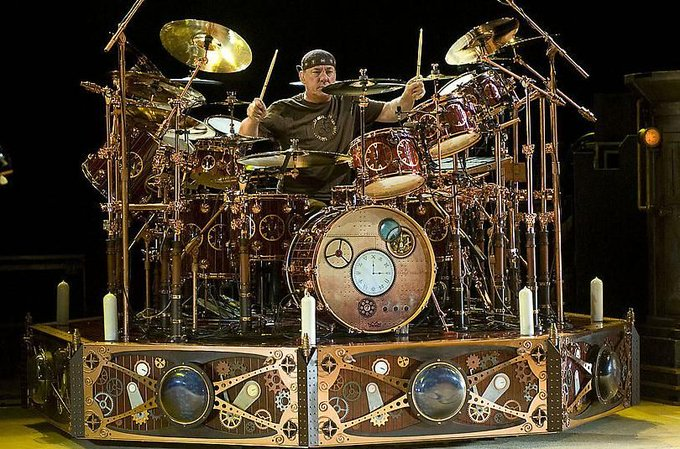 Happy birthday Neil Peart!!  We hope someone got you a new cymbal or three this year.