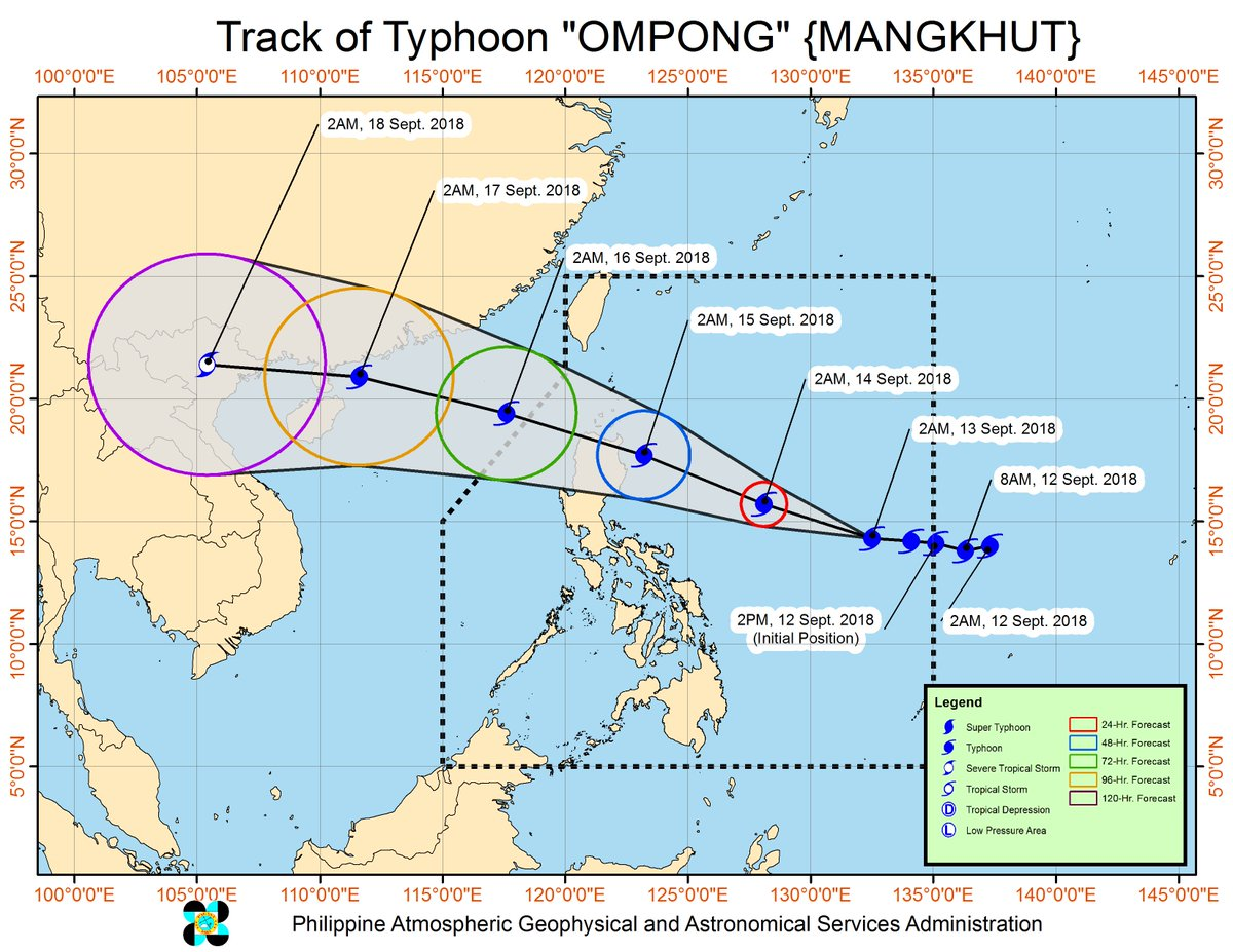 Hong Kong raises typhoon alert as Mangkhut approaches