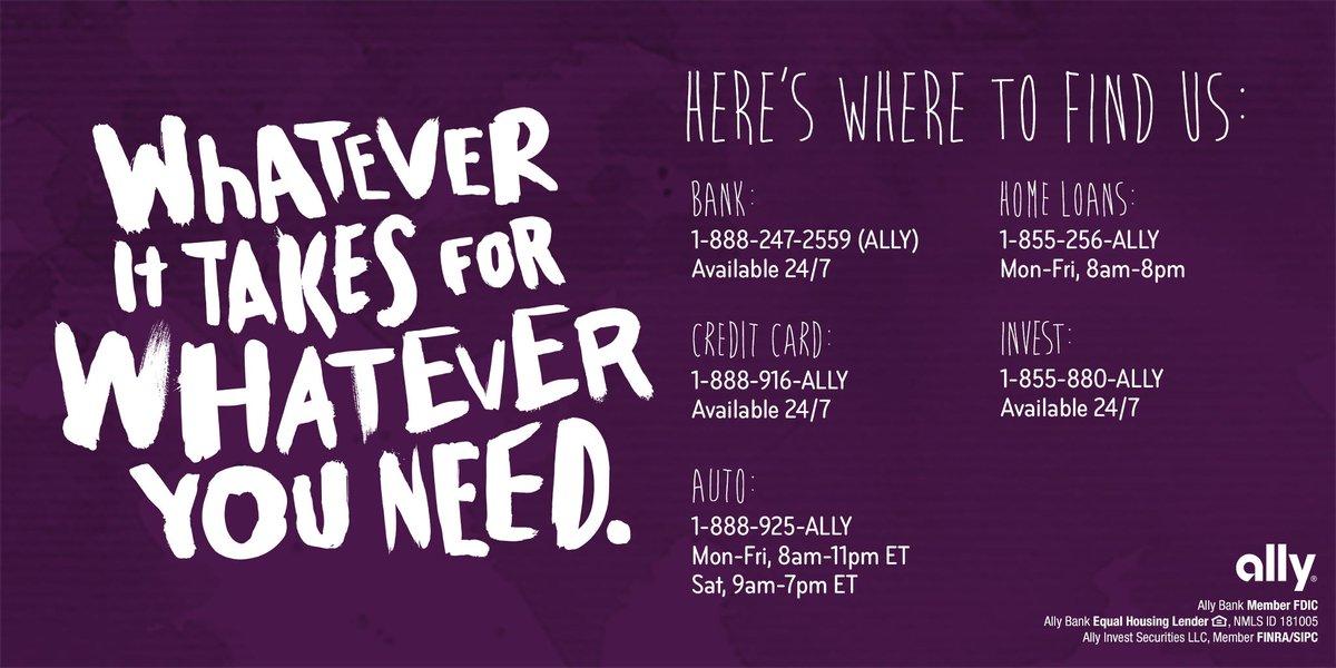 Ally Com Auto >> Ally Care Allycare Twitter