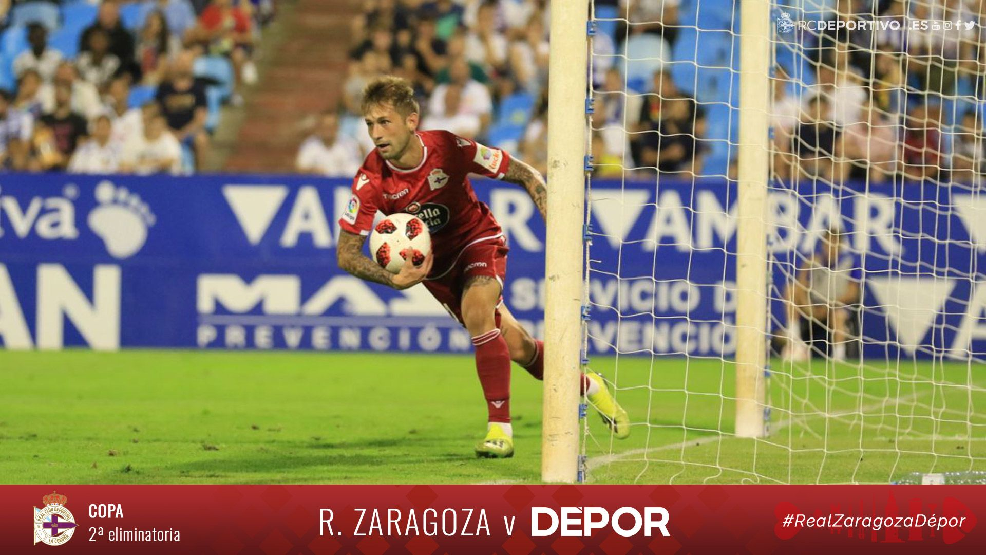 Vídeo resumen #ZaragozaDépor ya disponible en nuestra web: https://t.co/RHAWGLlRFL https://t.co/q4u5tFnB9y