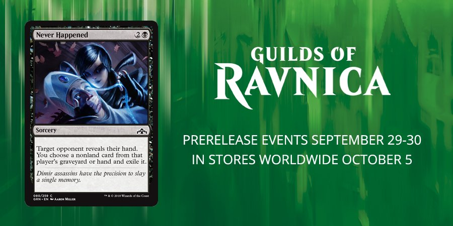 GRN] Never Happened : magicTCG