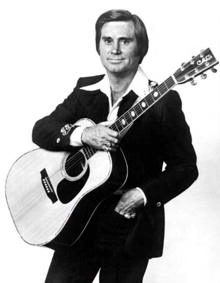 Happy birthday to The Possum. There will never be another George Jones
