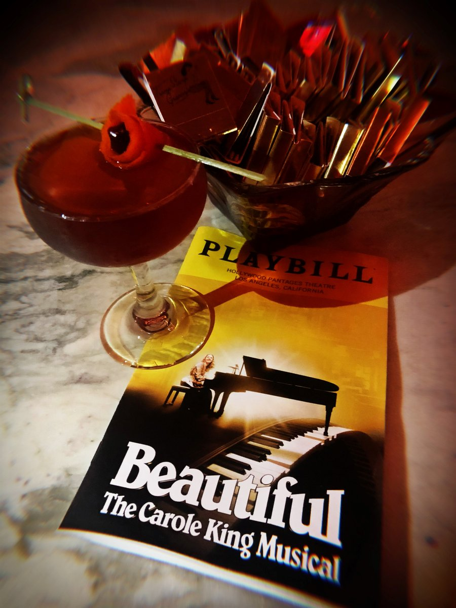 After The Show Enjoy These BeautifulOnBway Themed Cocktails Will You Still Love Me Amaro And Cocomotion At TrampStampGrans