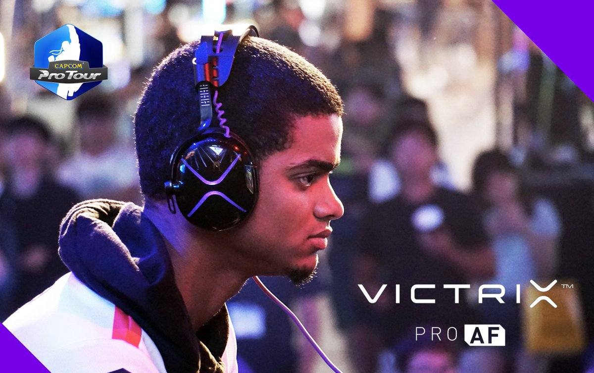 Order the official headset of Capcom Pro Tour at VictrixPro.com #ProAF #CPT2018