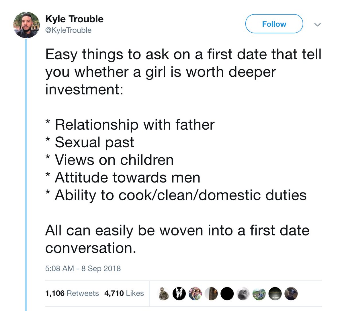 first date topics to talk about with a guy