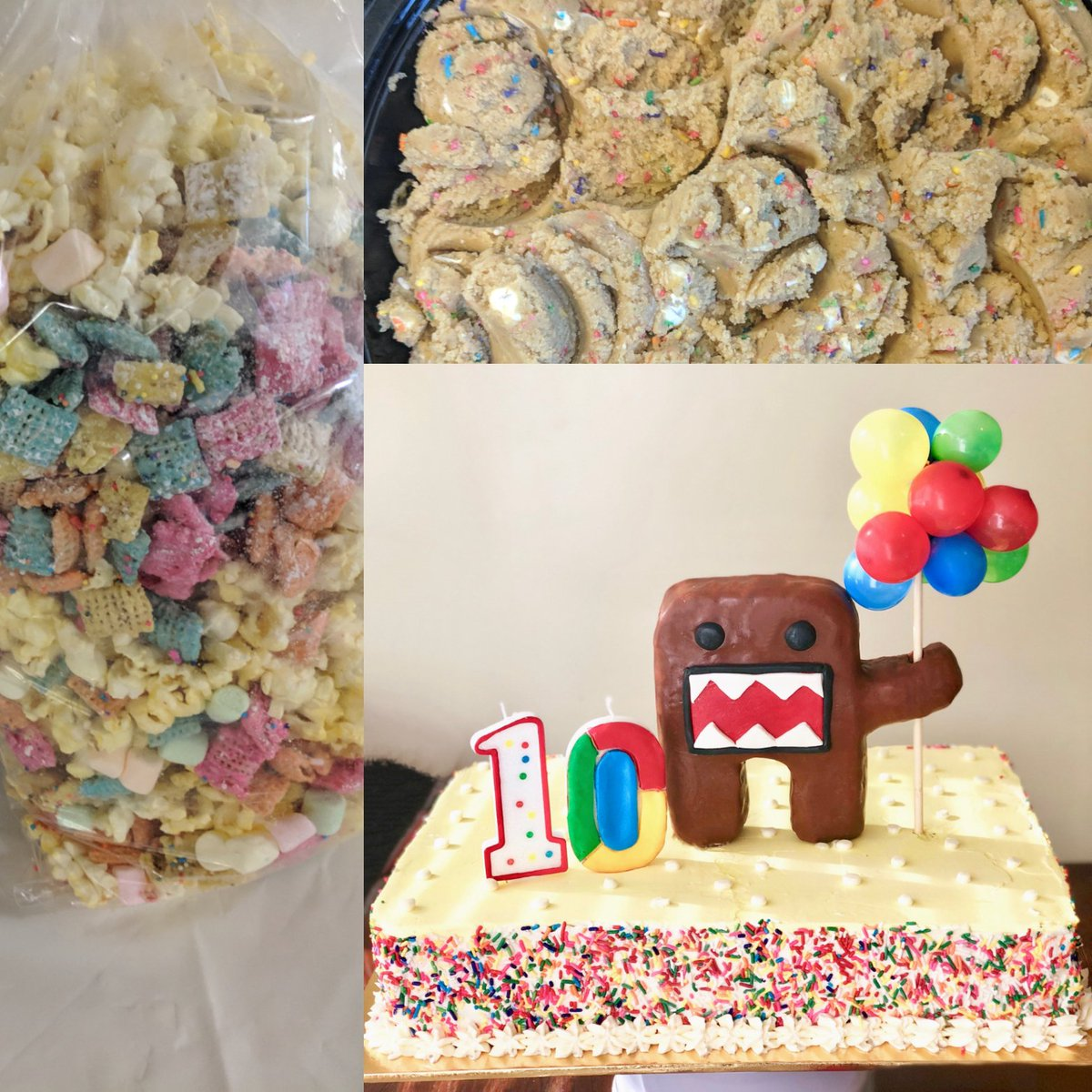 Wondrous Julie Parent On Twitter Funfetti Overload Happy 10Th Birthday Funny Birthday Cards Online Alyptdamsfinfo