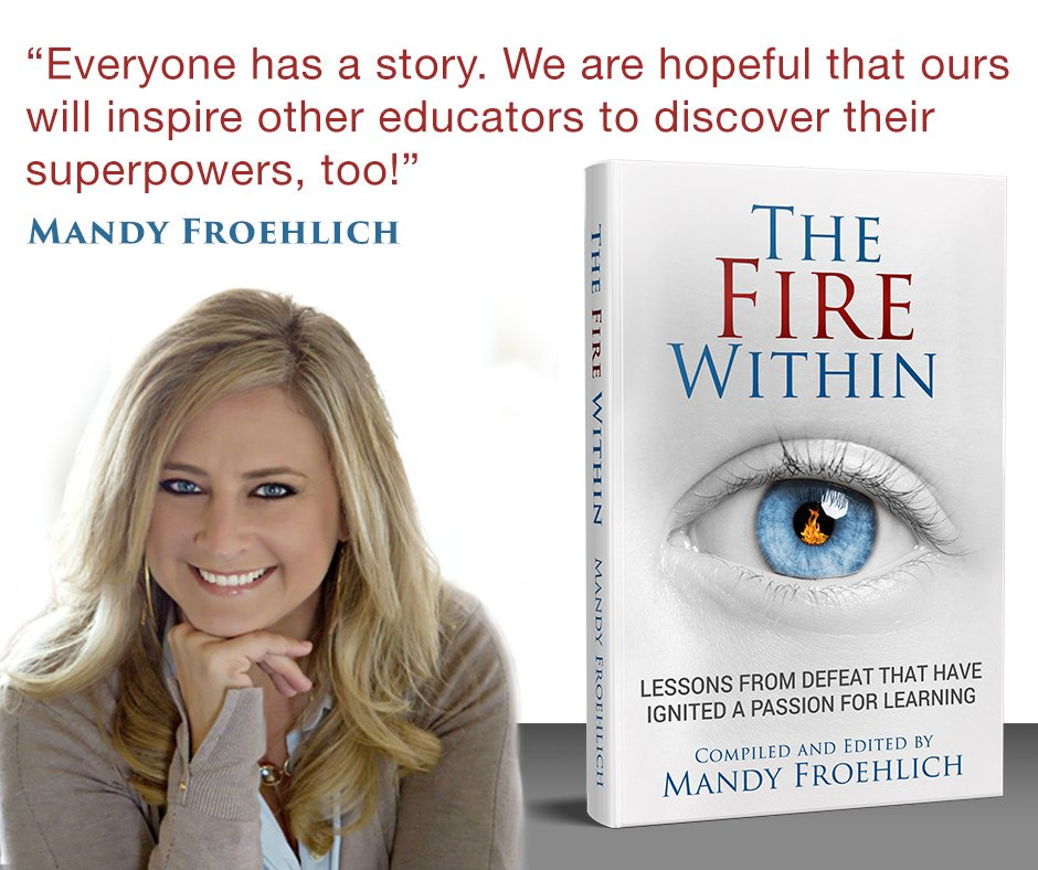 Thanks to @ClassLink I have some new social media graphics. They're way too good to me. 🤗 #firewithinbook