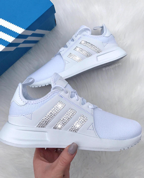 79bfa66cd Bling Swarovski Adidas Originals NMD R1 Womens Casual Shoes Color All White  Price  75  bling  Swarovskipic.twitter.com IPwIvq2xyz