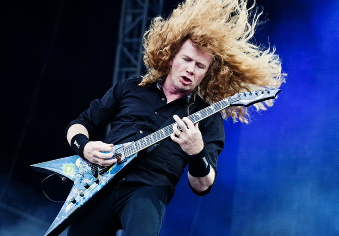 Happy Birthday \Dave Mustaine\ Band: Megadeth Age: 57