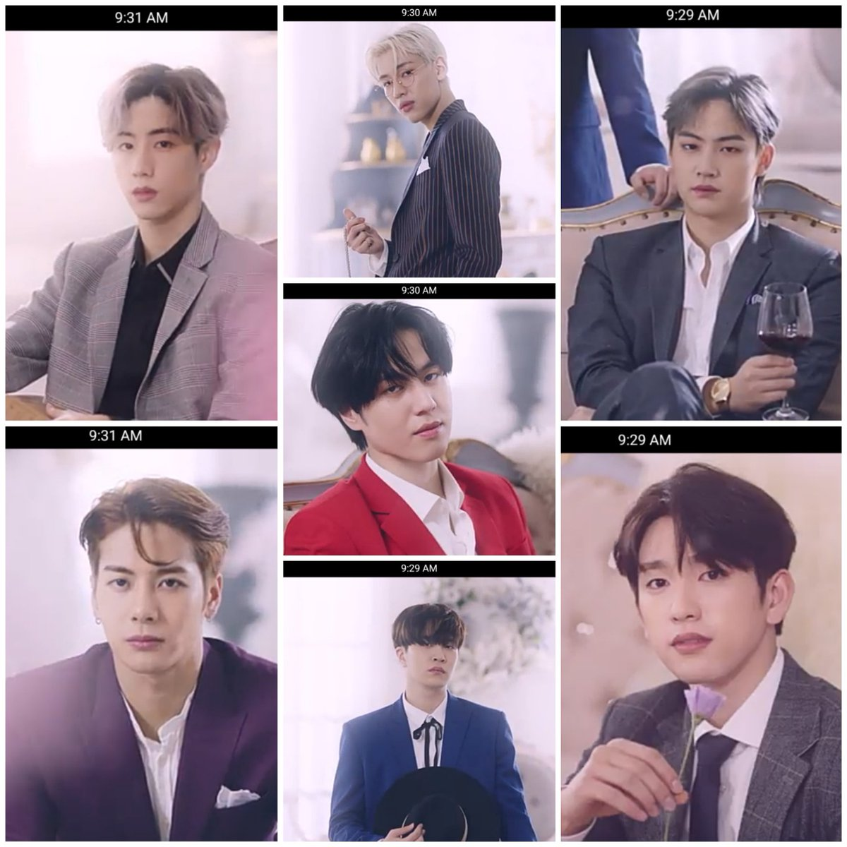 It's nice to start of my day with these beautiful men right here  #GOT7 #갓세븐