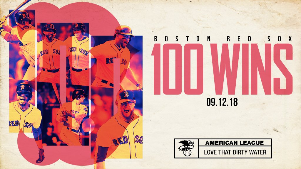 💯 Wins for Red Sox