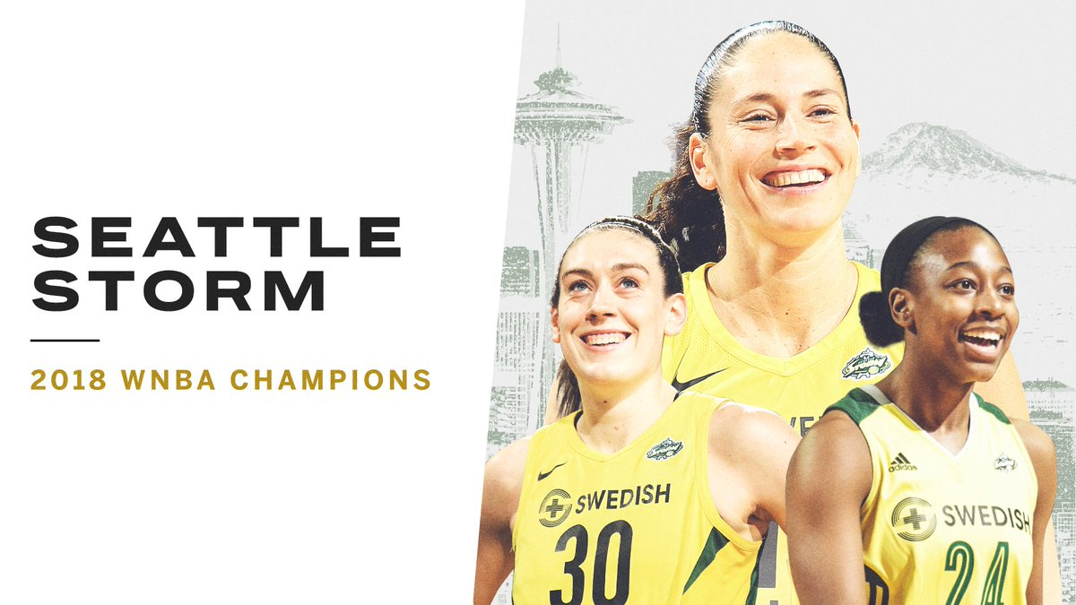 2004. 2010. and now 2018. The Seattle Storm are WNBA champions once again!