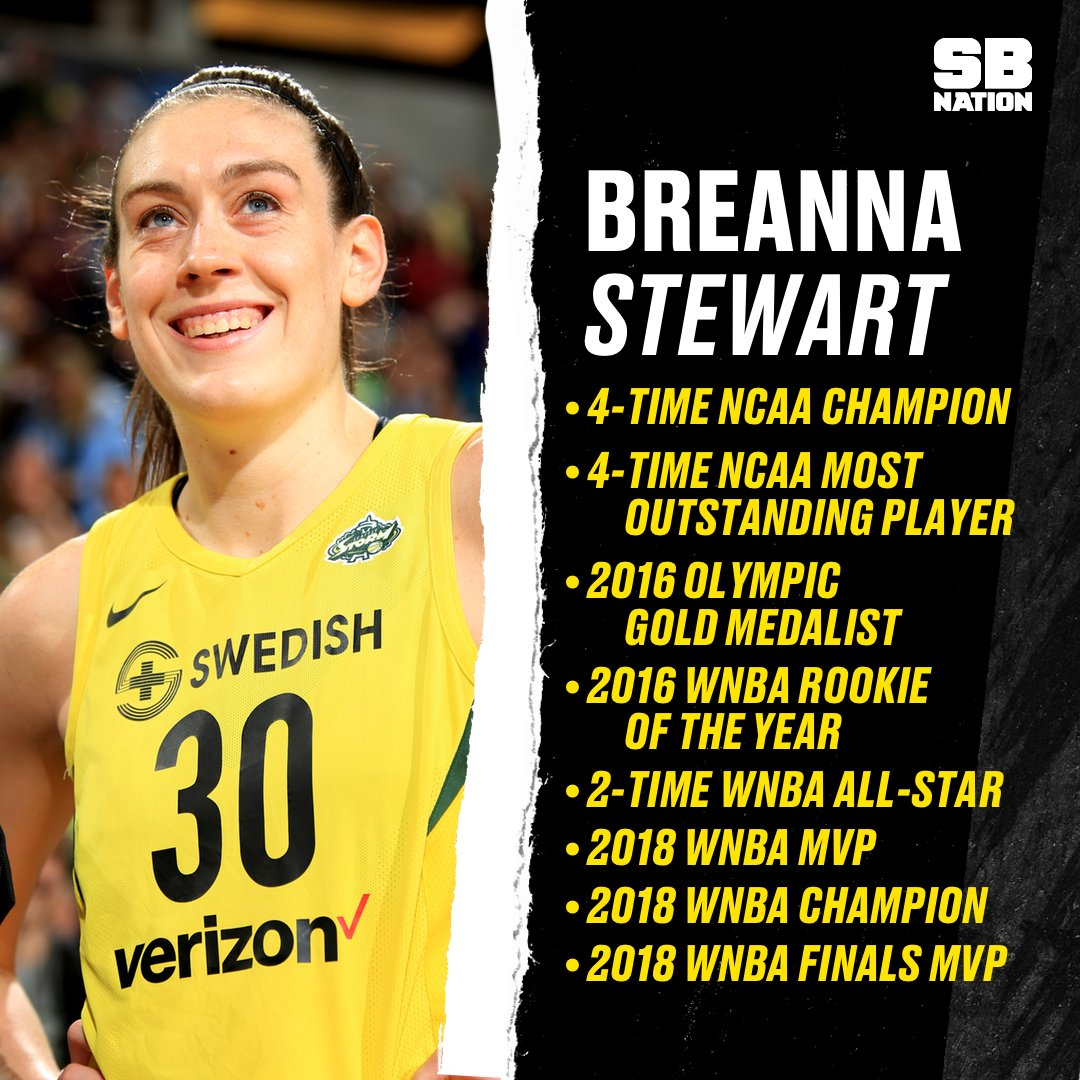 And Breanna Stewart is just getting started  <br>http://pic.twitter.com/CPQZITV8RM