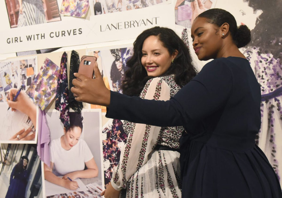 33661ed4ad8 girlwithcurves teams up with lane bryant to create a new eye catching  collection .