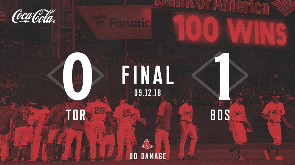 Series W AND 100th win, what a day. #DirtyWater  🔗https://t.co/X6uny2DSY3