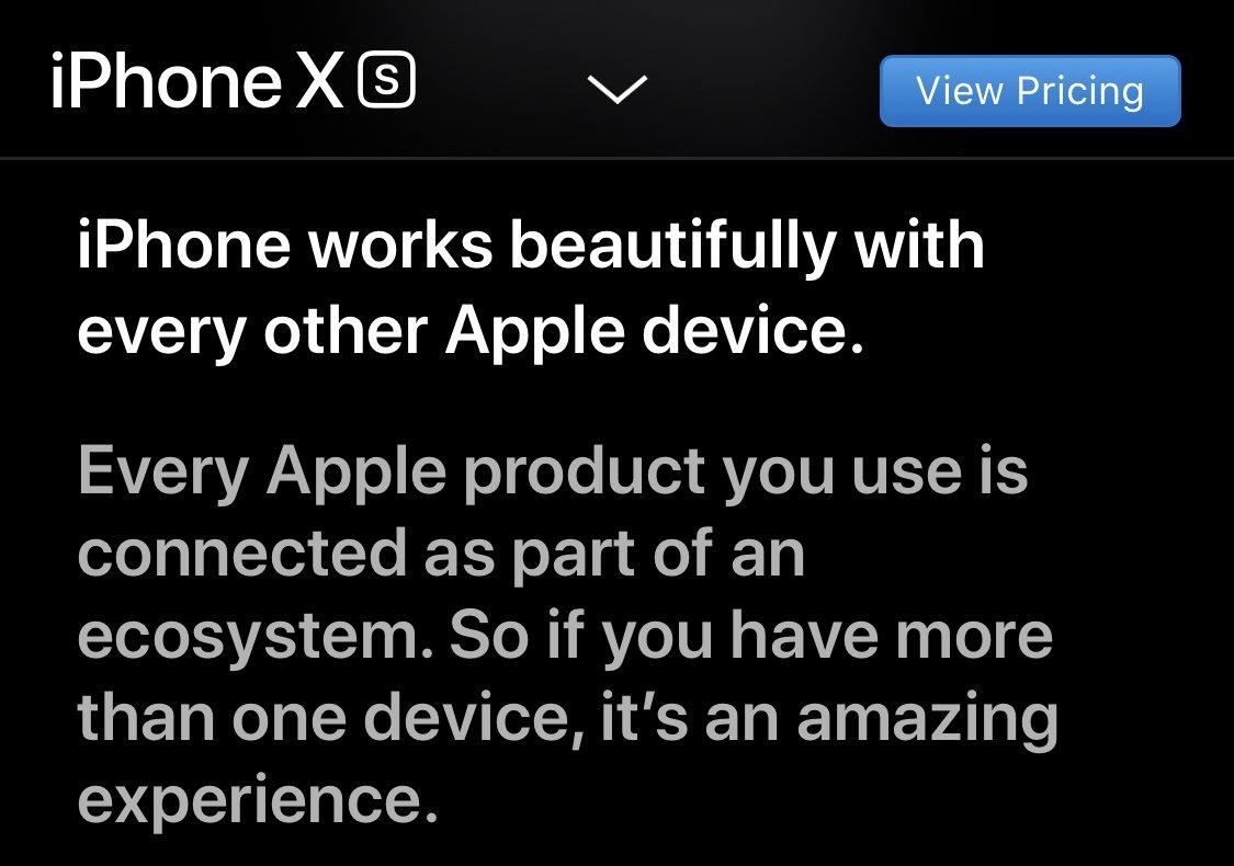 It Just Works.™ #Apple