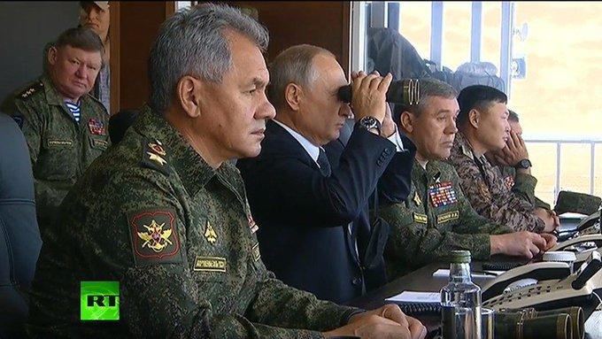 EN VIVO: Putin visita las mayores maniobras militares rusas en décadas: Vostok 2018 🔴 Foto