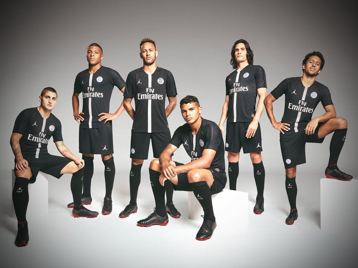 PSG drop their @Jumpman23 collection for 2018/19