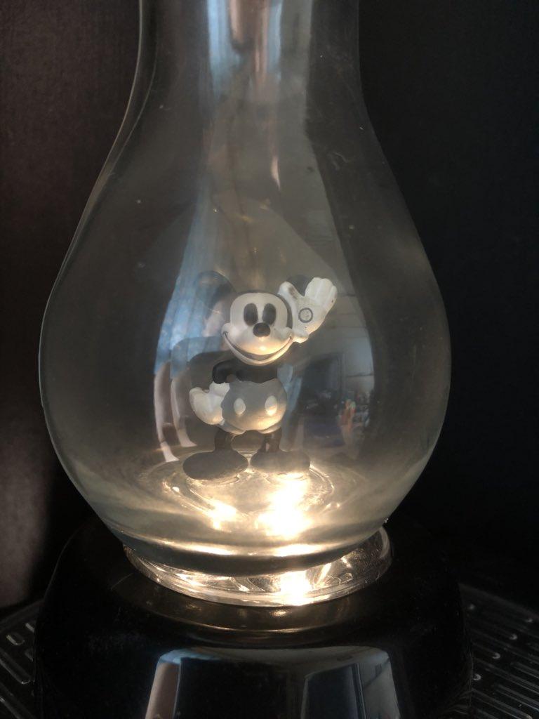 test ツイッターメディア - 百均で見つけた電球形ボトルにミッキーを入れてみたよ(´ω`) #ダイソー #ミッキーマウス https://t.co/GdlzokoNlI