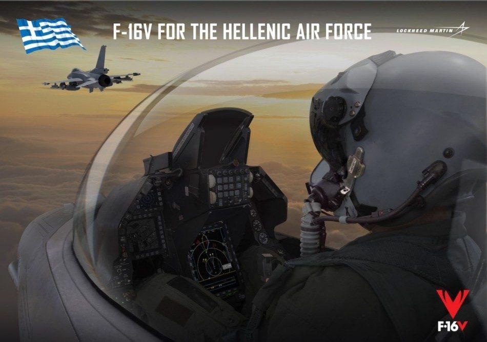 اليونان ستحدث مقاتلاتها ال F-16 للنسخه Viper وستشتري ال F-35 Dm98evfXcAIp3ZL