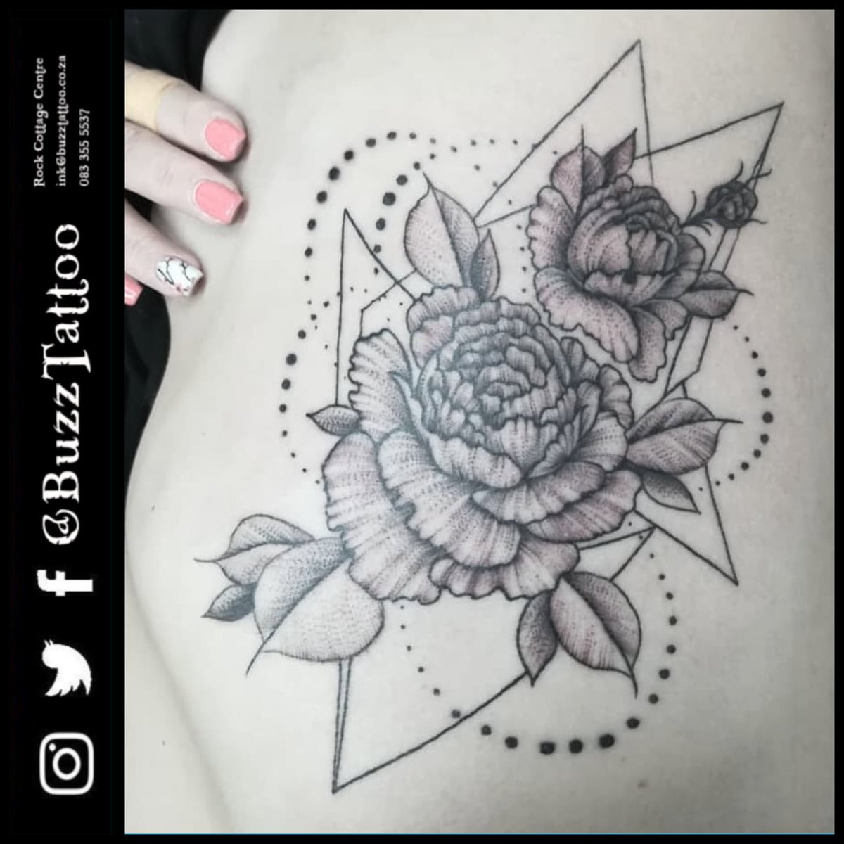 Flowertattoo Photos And Hastag