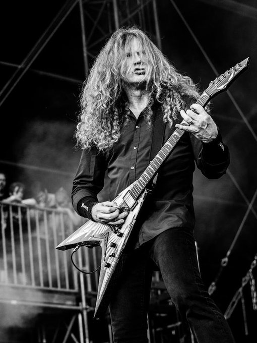 Dave Mustaine, Megadeth! Happy Bday!