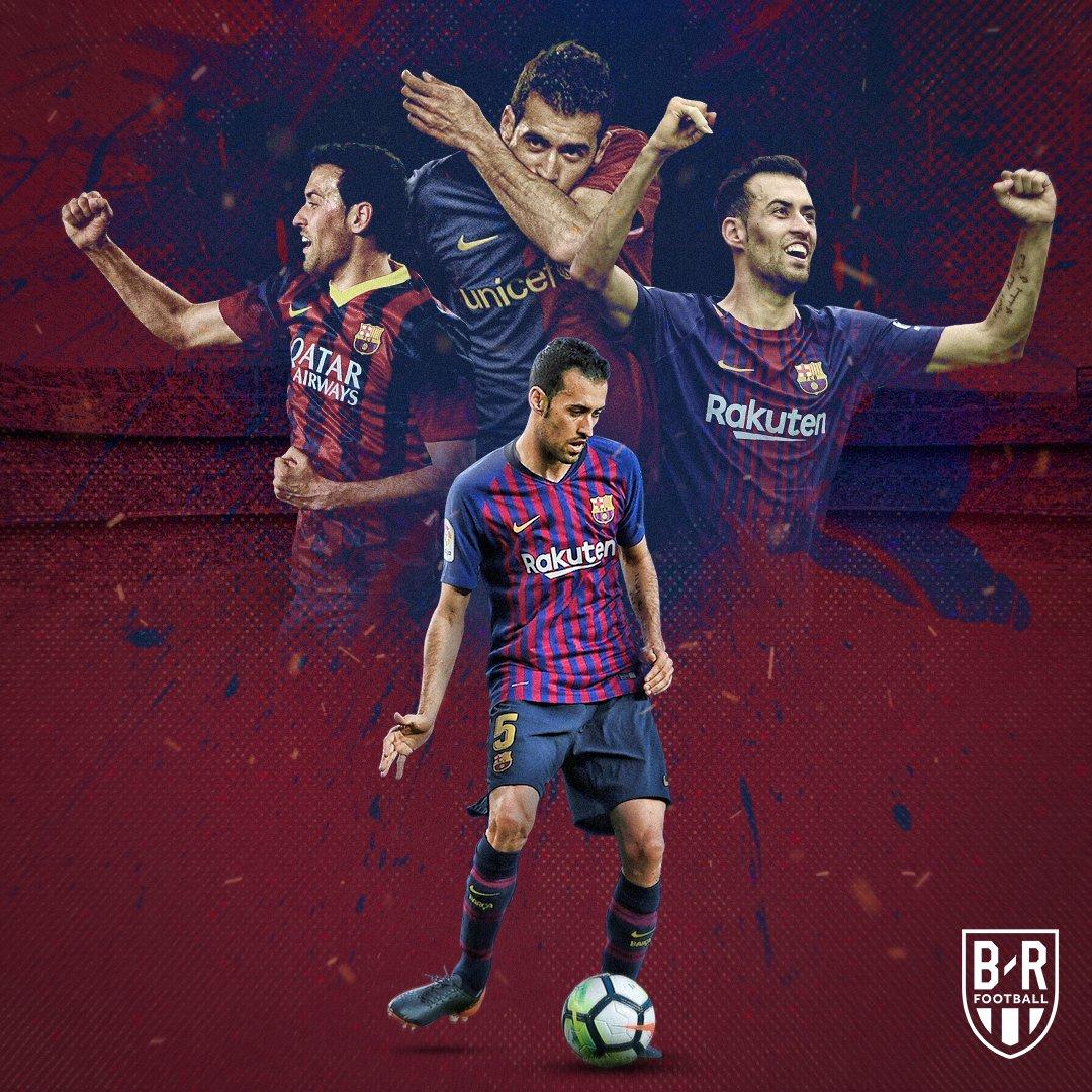 162ca95de3f Today marks 10 years since Sergio Busquets made his La Liga debut for  Barcelona 🔵🔴