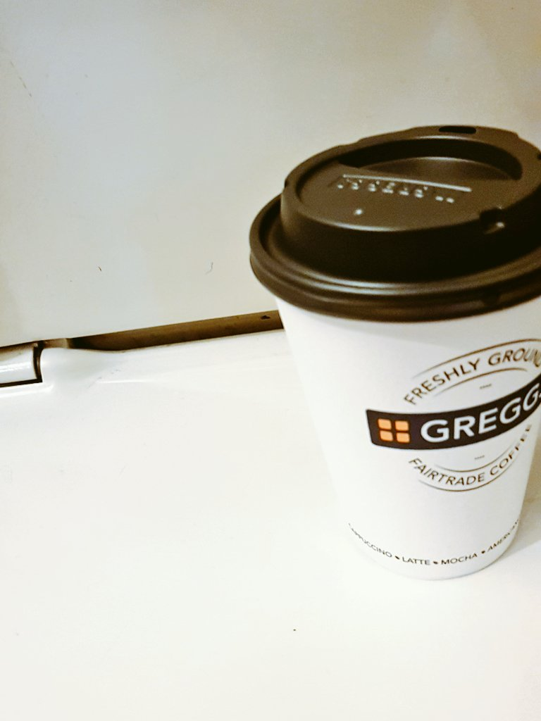 Can always count on @GreggsOfficial to make or break your day.   Bacon sandwich - no bacon  Tea - given coffee   SHOOT ME NOW https://t.co/MTFaos3rQ5