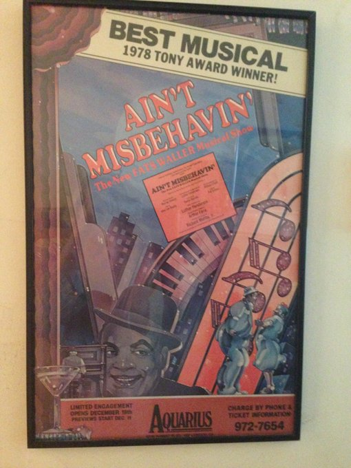 Happy Birthday to the late great Nell Carter who was in the original  Broadway Cast of Ain t Misbehavin