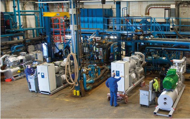 Industry industrial refrigeration equipment and spare parts