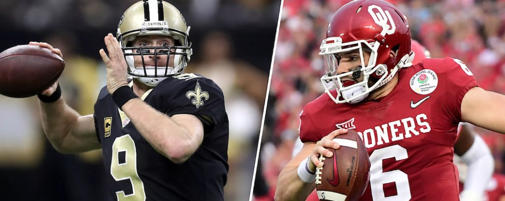 Did You See This:Drew Brees says Baker Mayfield will be better than him https://t.co/M2PBJAFxTV #NFL #NFLDraftNews https://t.co/uzUvIpWjIj