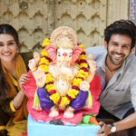 Image for the Tweet beginning: Happy Ganesh Chaturthi everyone!! Ganpati