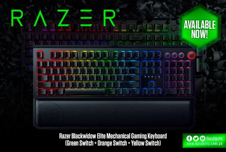Datablitz On Twitter Razer Blackwidow Elite Mechanical Gaming