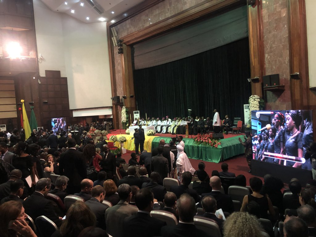 Funeral of Kofi Annan in Accra