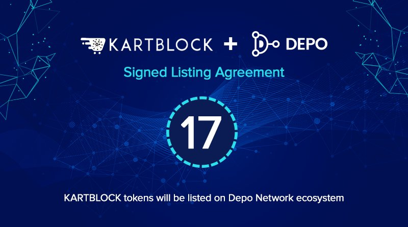 Depositorynetwork On Twitter Kartblock Signed Listing Agreement