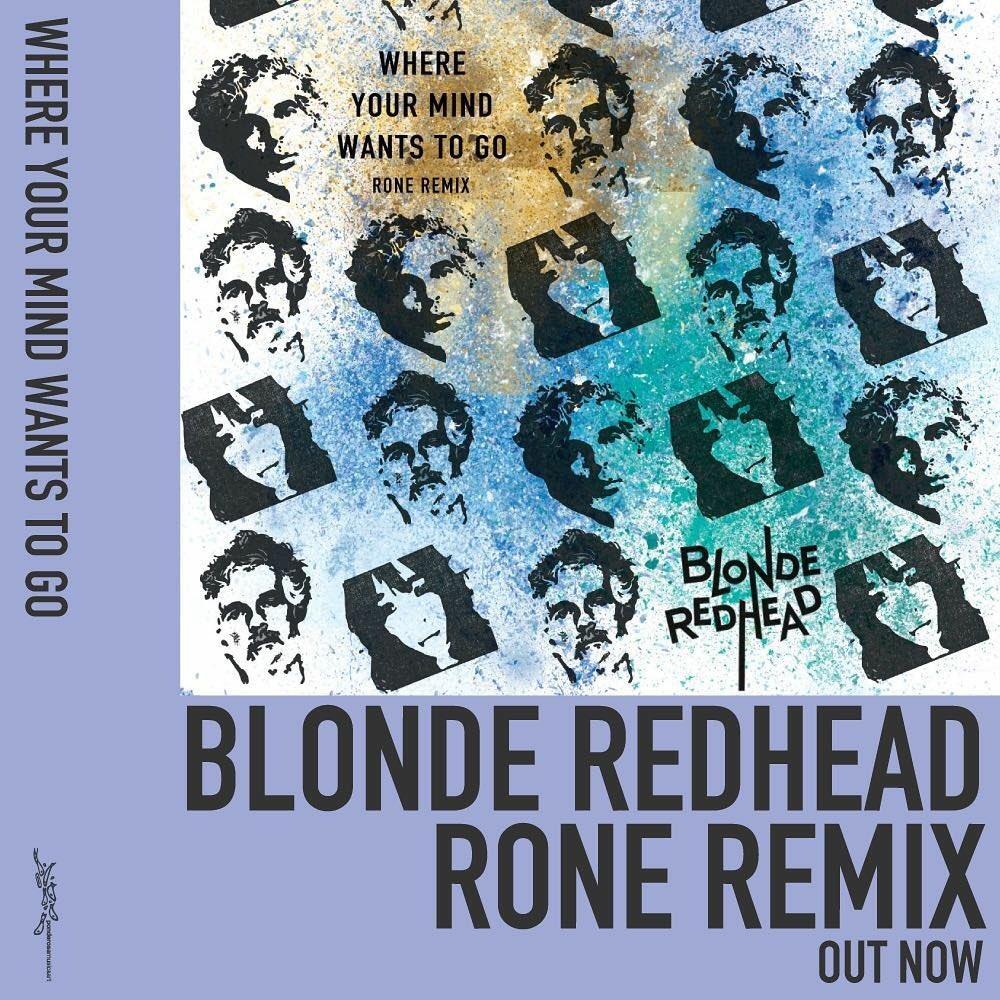 Blonde redhead futurism