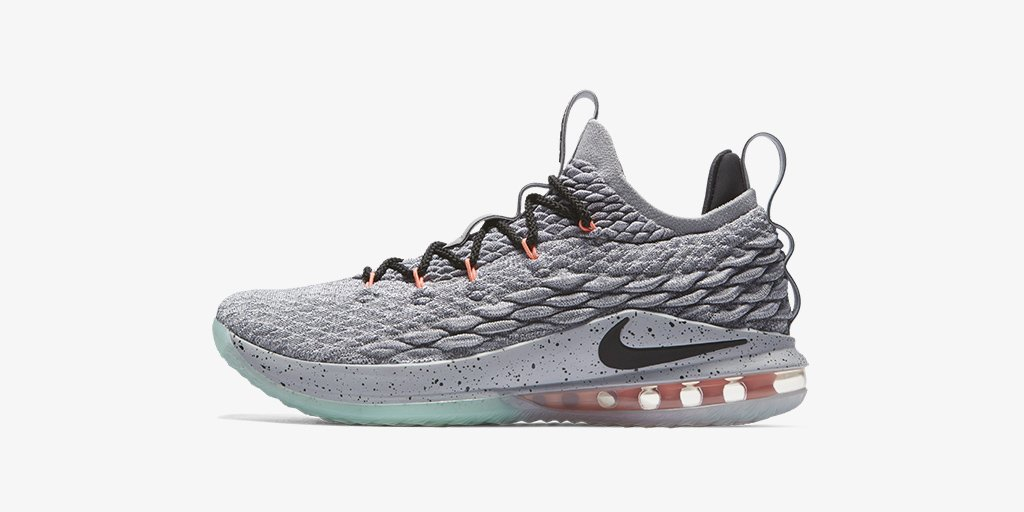 the nikebasketball lebron 15 low cool grey shop ce27f83e6