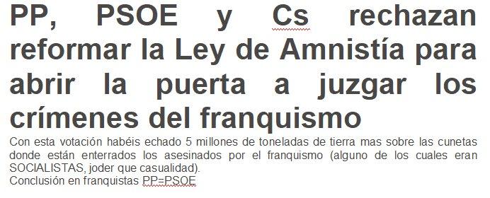@eldiarioes error el @PSOE esta en su verdadero lado, ustedes son los que os dejáis ENGAÑAR